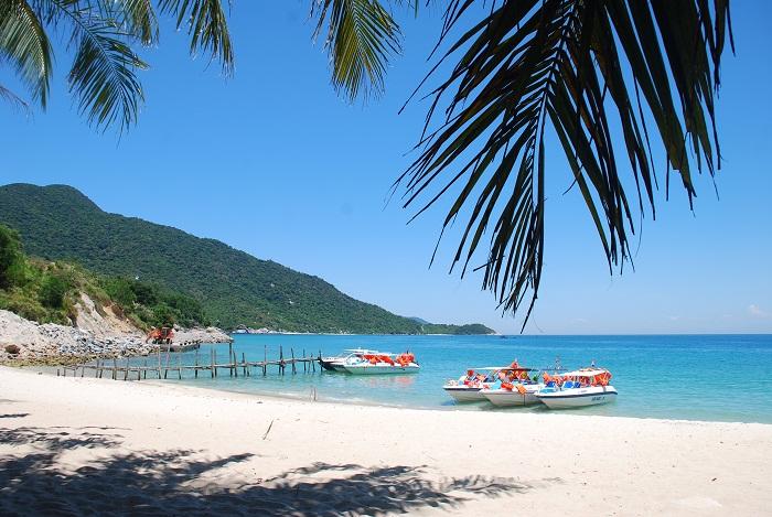 Cảnh đẹp hoang sơ ở biển Khai Long (Nguồn sưu tầm)