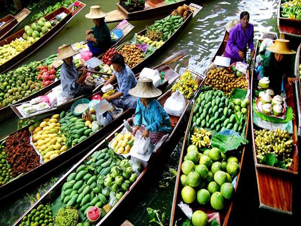 Các địa điểm du lịch ở Cà Mau chợ nổi