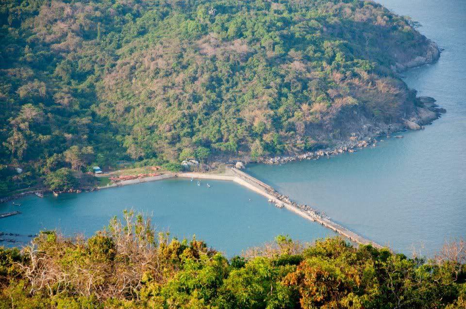 Khu Đảo nhìn từ trên cao (Nguồn sưu tầm)