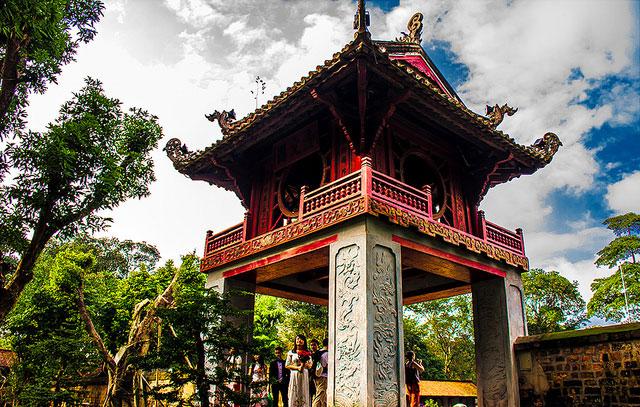 Văn Miếu Quốc Tử Giám địa điểm nên đến ở Hà Nội
