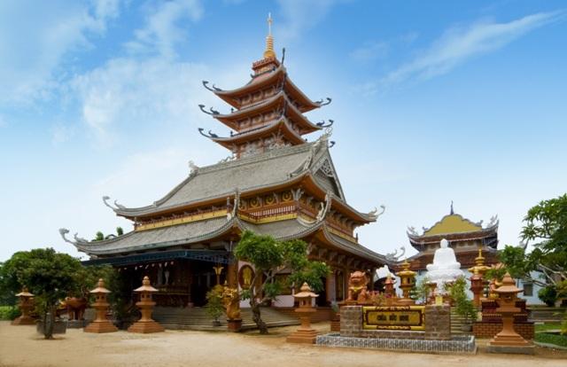 Vẻ đẹp cổ kính lâu đời của chùa (Ảnh ST)