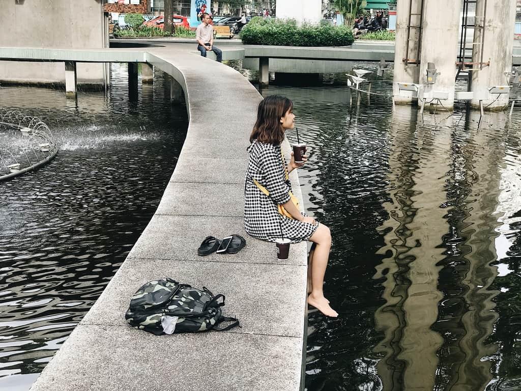 hồ con rùa-đi chơi sài gòn 1 ngày