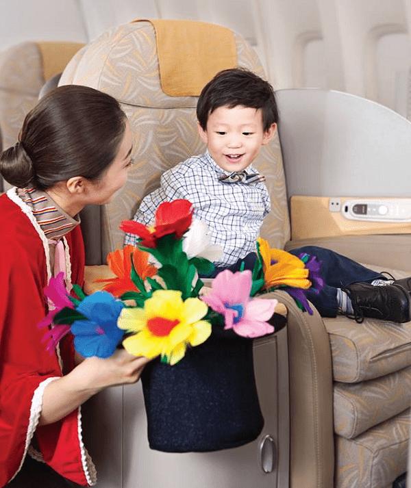 Các quy định về vé máy bay trẻ em