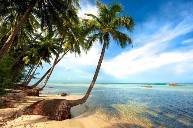 Bãi biển đẹp tại đảo Phú Quốc