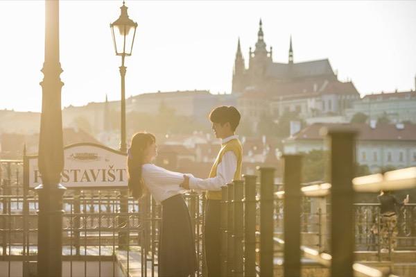 thành phố cổ Prague
