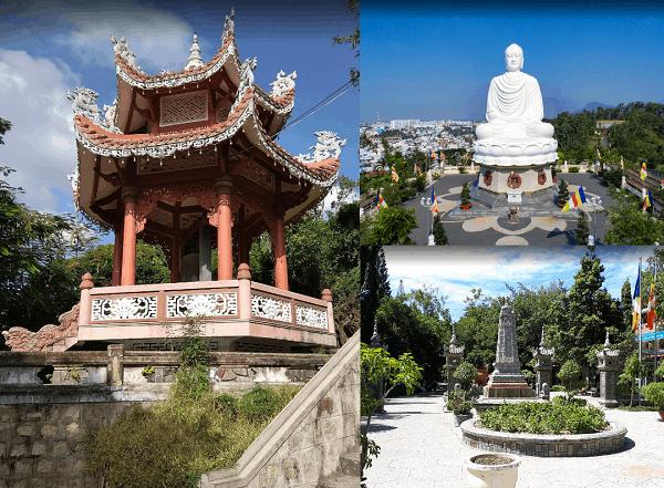 Hướng dẫn tour du lịch Nha Trang giá rẻ. Địa điểm du lịch Nha Trang. Chùa Long Sơn