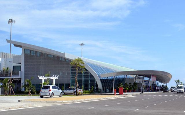 Sân bay Tuy Hòa cách trung tâm thành phố 10km (Ảnh: sưu tầm)